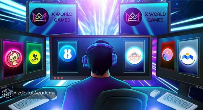ارز دیجیتال X World Games