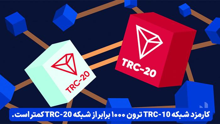 TRC10 و TRC20 شبکه های انتقال بلاک چین ترون هستند