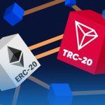 مقایسه TRC-20 و ERC-20